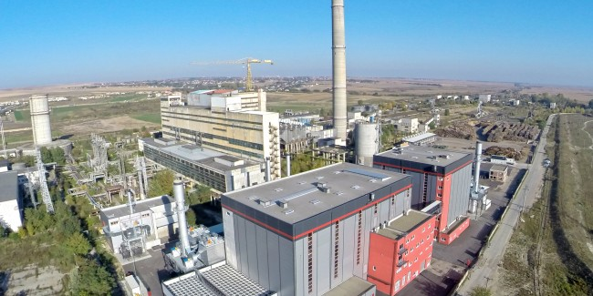 District heating of Suceava